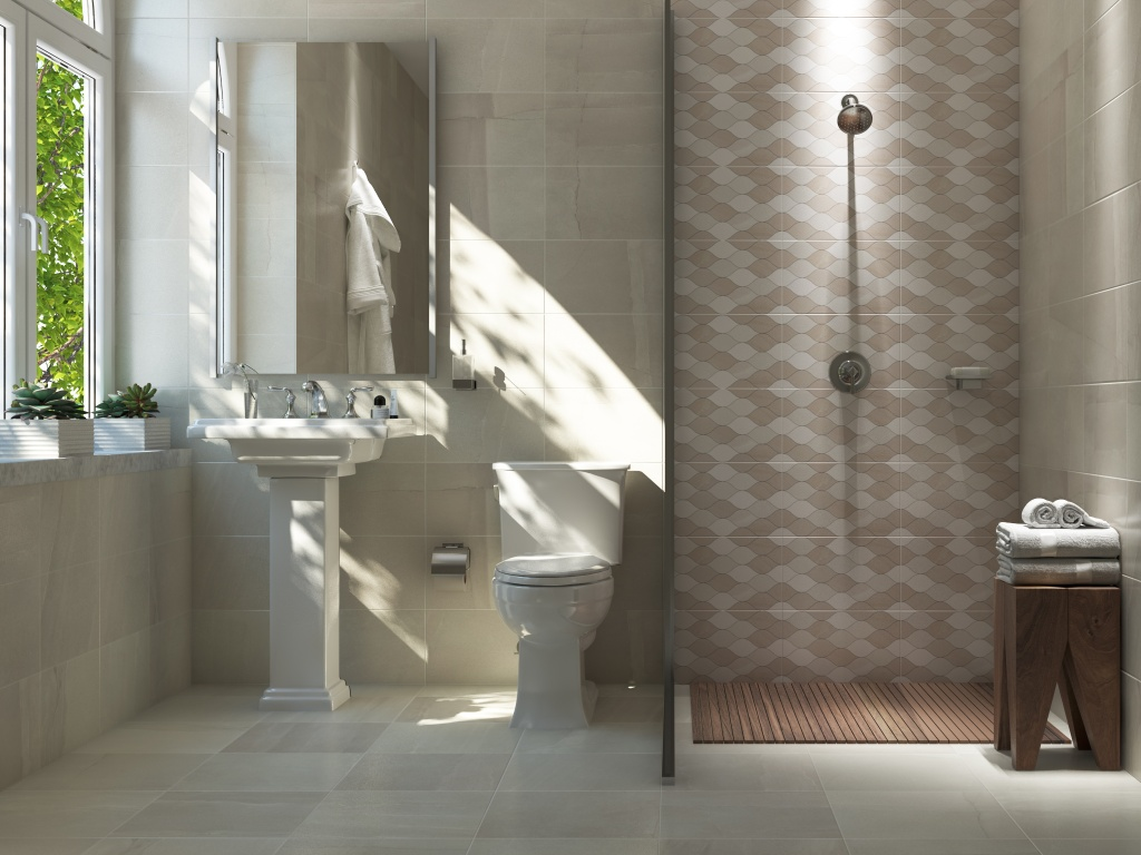 Baños estilo decorado - Interceramic